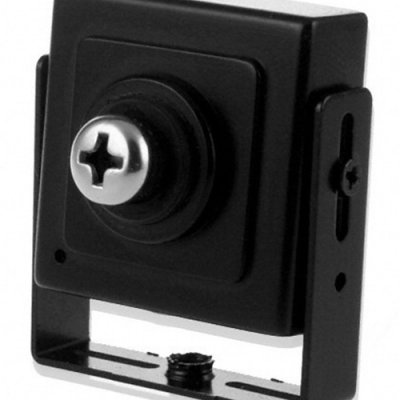 Black Spy Screw Camera with CCD Sensor - PAL